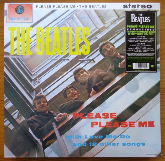 Beatles Lp Imp Lacrado Please Please Me 180 G Made In Eu