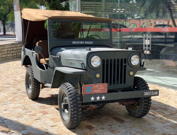 Jeep Willys Jc3 - 1952