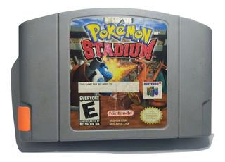 Pokemon Stadium N64 Nintendo Videojuegos Rock