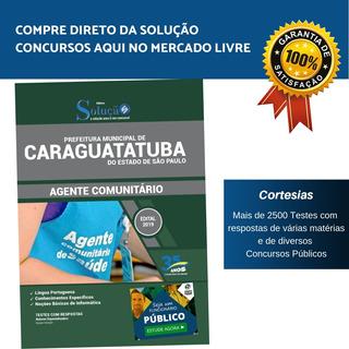 Apostila Agente Comunitário Concurso Caraguatatuba Sp 2019