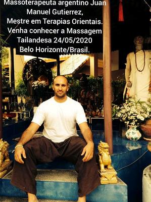 Curso Terapia/massagem Tailandesa