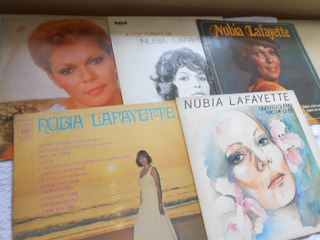 Vinil Núbia Lafayette Lote 5 Lp
