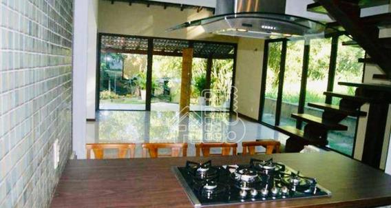 Casa Com 4 Dormitórios À Venda, 400 M² Por R$ 860.000,00 - Rio Do Ouro - São Gonçalo/rj - Ca1057