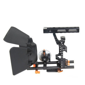 Suporte Handle Shoulder P Filmagem Vídeo Follow Focus