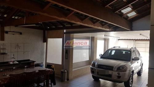 Sobrado Com 3 Dormitórios À Venda, 300 M² Por R$ 899.000,00 - Vila Aliança - Guarulhos/sp - Ai19311