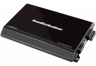 Amplificador Audiobahn De 4 Canales 2400w Mod. Ac1200.4