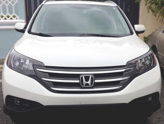 Honda Crv Exl Full 4x4 Gps Blanca Importado 12