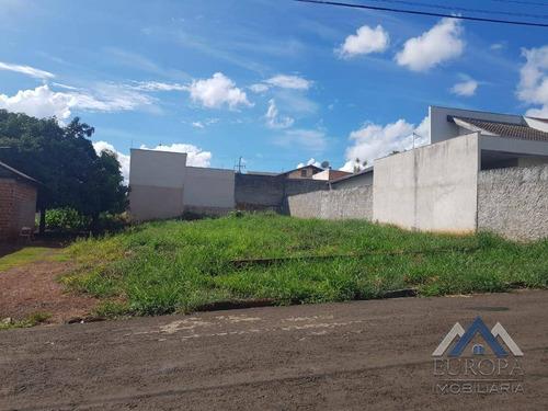 Imagem 1 de 2 de Terreno À Venda, 407 M² Por R$ 198.000,00 - Columbia - Londrina/pr - Te0555