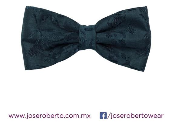 Moño/pajarita/bowtie Brocado Jade Marca José Roberto