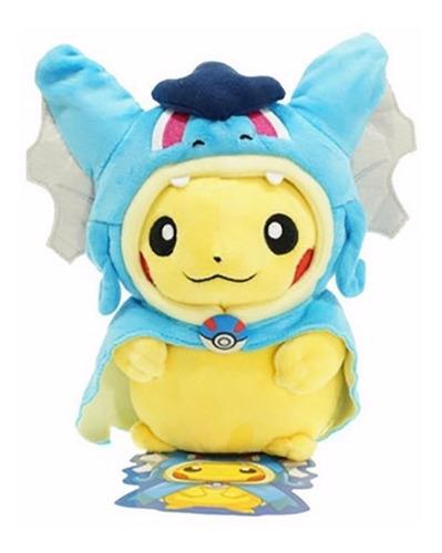 Peluche Pikachu Cosplay Garados Pokemon Center