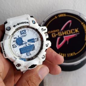 Relógio Masculino Branco Estilo Gshock