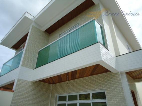 Casa Com 3 Dormitórios À Venda, 100 M² Por R$ 458.000,00 - Vila Cascatinha - São Vicente/sp - Ca0060