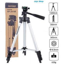 Tripé Câmera Celular Profissional Até 1020mm Tefeng Youtuber