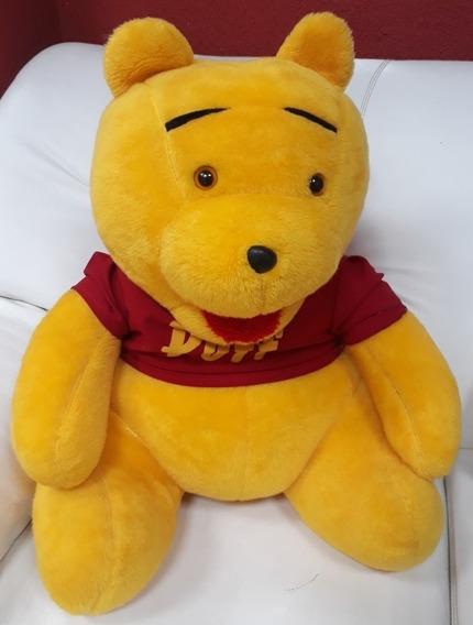 Ursinho De Pelúcia Pooh Puff Grandão 60cm Presente Namorados
