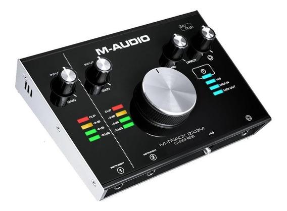 M-audio M-track 2x2m Usb Audio/midi Interface