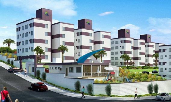 Apartamento 2 Quartos A Venda Santa Luzia! - Ap3768