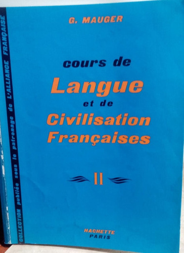 Cours De Langue Et De Civilisation