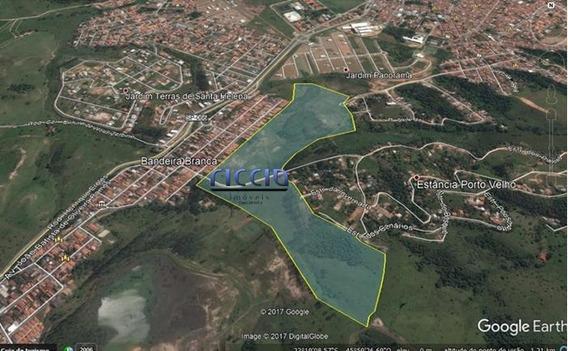 Terreno À Venda, 255521 M² Por R$ 6.000.000,00 - Bandeira Branca - Jacareí/sp - Te0929