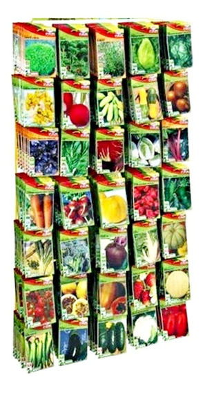 Kit Com 20 Envelopes De Sementes Hortaliça Tempero À Escolhe
