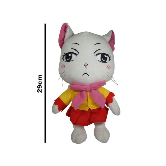 Fairy Tail Peluche Gato Charlotte