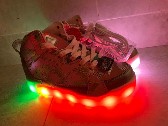Zapatillas Skechers Con Luces Led De Colores