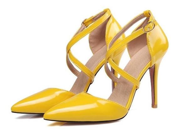 Sapato Feminino Asumer 45940 Importado