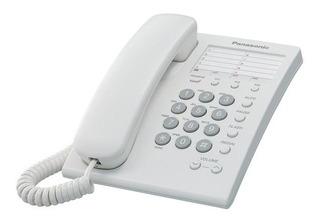 Telefono Panasonic Kx-ts550 Alambrico Basico Unilinea Con