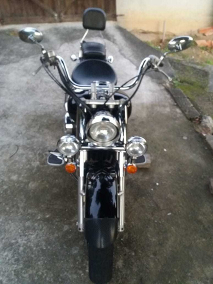 Moto Com Pneus Novos . Motor Seco, Baixa Quilometragem .