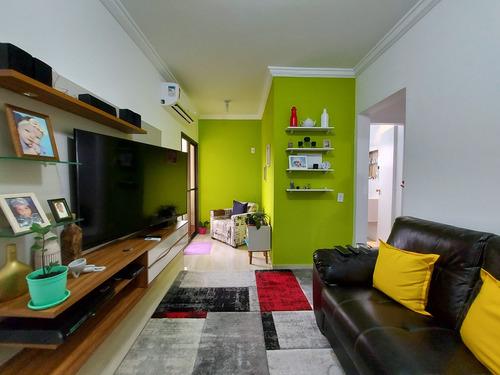 Apartamento De 2 Dormitórios Reformado À Venda Na Praia Da Enseada Em Guarujá-sp - Ap05718 - 69230524