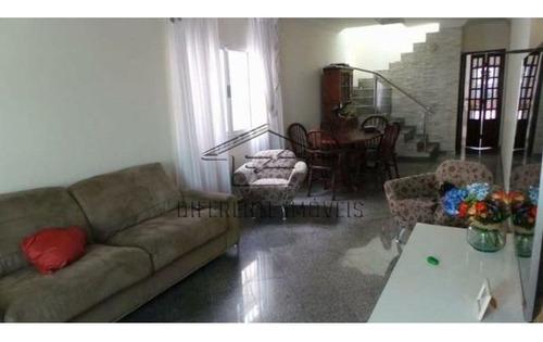 Imagem 1 de 15 de Sob609-sobrado Com 189m² 3 Dormitórios, 1 Suíte, 5 Vagas Na Cidade Patriarca