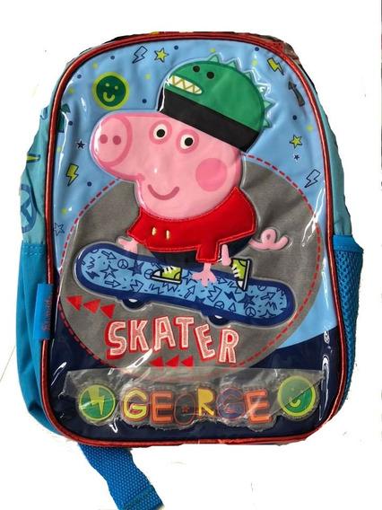 Mochila Peppa Pig Jardin Espalda George Nueva Temporada