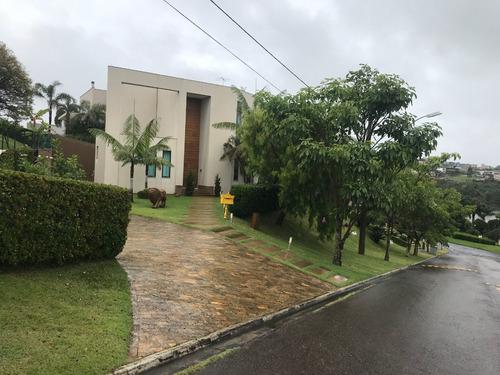Casa De Alto Padrão, 4 Suítes, Piscina, Lazer Completo, Vista Maravilhosa, Para Locação Em Alphaville. - 833