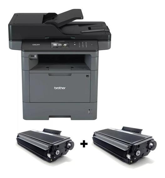 Impressora L5652dn Multifuncional Brother Dcp-l5652dn + 02 Toner Extra Compativel Novo De 12k