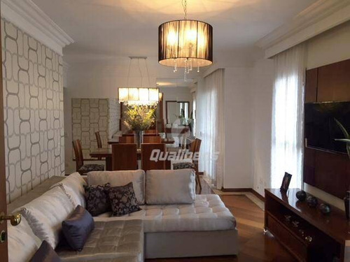 Apartamento Com 3 Dormitórios À Venda, 129 M² Por R$ 599.000,00 - Parque Das Nações - Santo André/sp - Ap0282