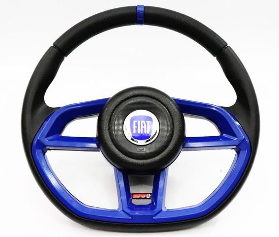 Volante Esportivo Gti Volkswagen P/ Fusca Com Cubo