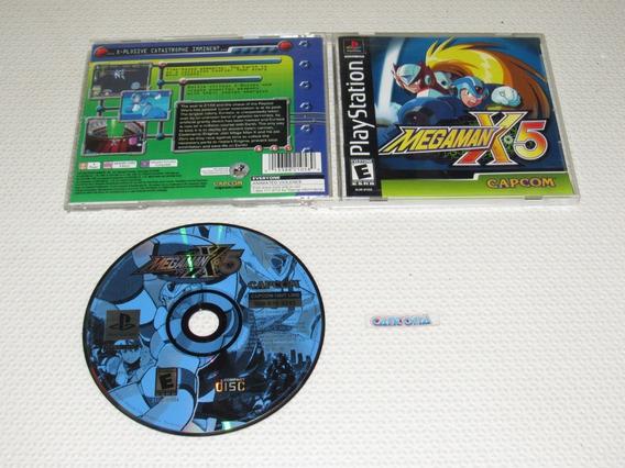 Megaman X5 Original Playstation Black Label