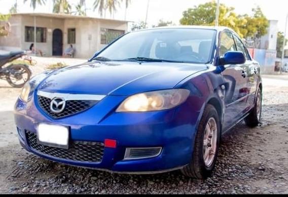 Mazda 3 Azul Modelo 2009