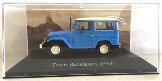 Miniatura Toyota Bandeirantes 1967 Esc 1. 43 Raro