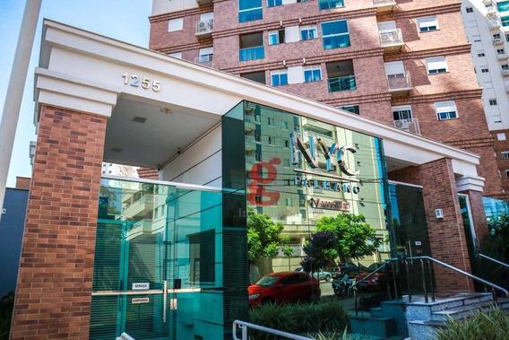 Cond - Nyc Palhano - Apartamento Com 2 Dormitórios À Venda, 69 M² Por R$ 350.000 - Nyc Palhano - Londrina/pr - Ap0241