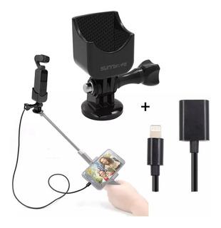 Adaptador Osmo Pocket / Tripode + Cable De Extensión iPhone