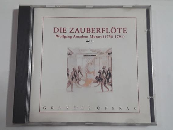 Grandes Óperas Amadeus Mozart Die Zauberflote Vol. 2