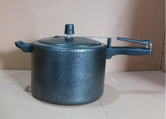 Panela De Pressão Em Alumínio Polido 7 Litros-pronta Entrega