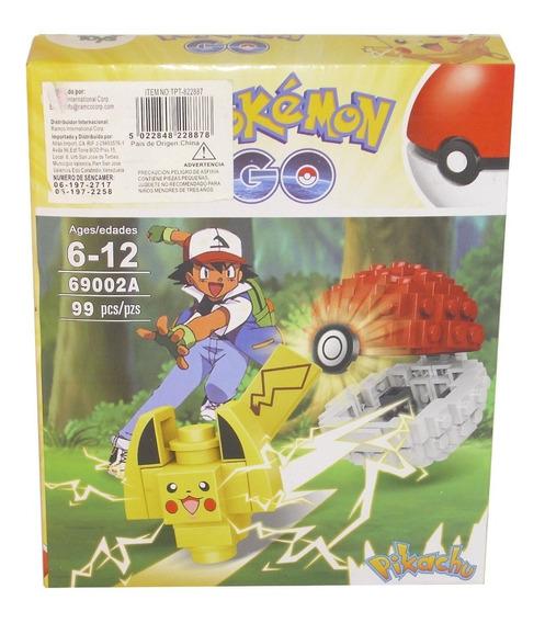Juego Armable Lego 99 Piezas Pokemon Go Pikachu / Juguetes