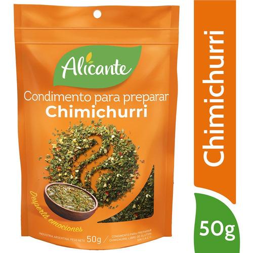 Alicante Condimento Para Preparar Chimichurri X 50 Gr