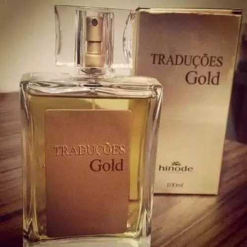 Perfumes Hinode Traduções Gold 62