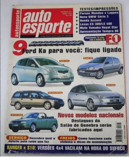 Revista Auto Esporte - Focus Honda Bmw Tempra Astra Golf