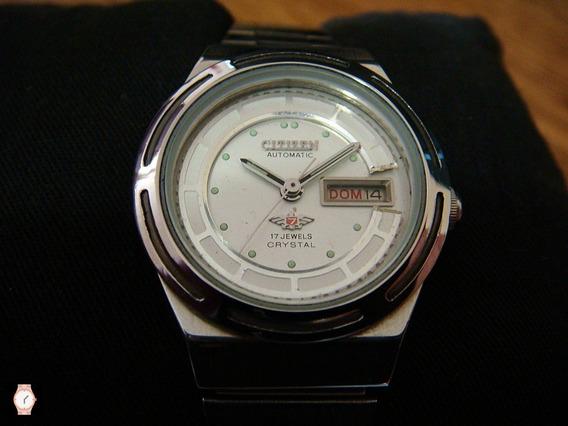 Reloj Citizen Para Dama Automático Acero Inox 100%.