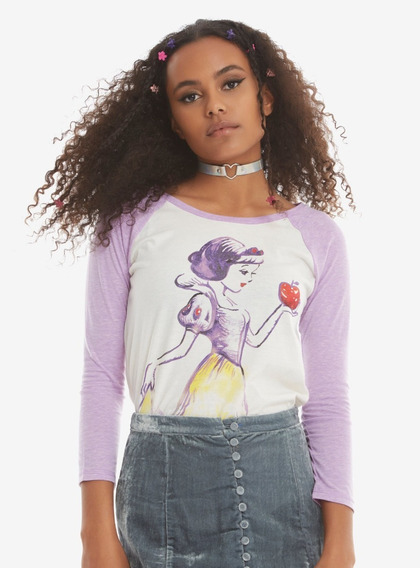 Playera Snow White Disney Hot Topic Original
