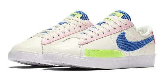 Nike Low Cuero Blazer Edicion Limitada Blanco Max Unisex