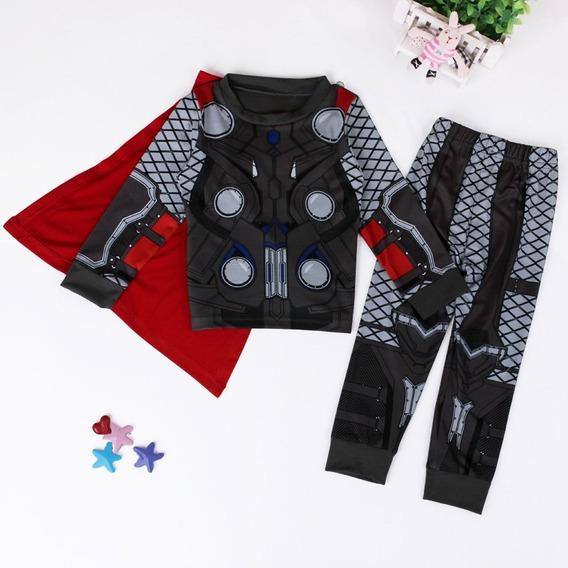 Pijamas Fantasias Infantil Diversos Heróis